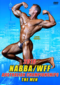 2010 NABBA/WFF Australian Championships The Men