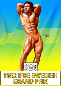 1982 IFBB Swedish Grand Prix [PCB-130DVD]