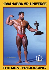 1984 NABBA Universe Men: The Prejudging