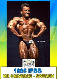 1985 IFBB World Amateur Championships: IFBB Mr Universe