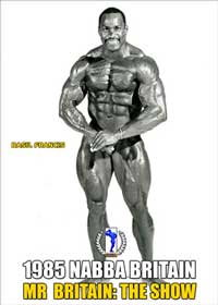 1985 NABBA Mr. Britain - Show