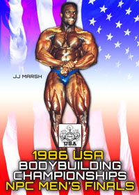 1986 NPC USA Bodybuilding Championships: Men\'s Finals