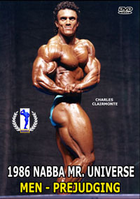 1986 NABBA Mr Universe - Men's Prejudging