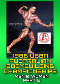 1986 UBBA Australian Bodybuilding Championships Part 2 [PCB-337BDVD]