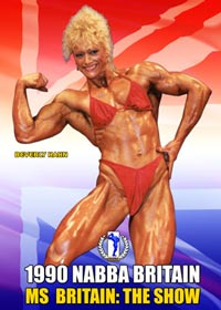 1990 NABBA Miss Britain: Figure