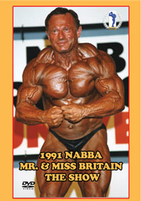 1991 NABBA Mr & Miss Britain The Show [PCB-0676DVD]
