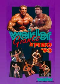 Weider Bodybuilding Giants at FIBO 1993