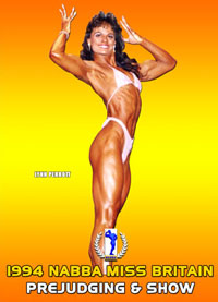 1994 NABBA Miss Britain: Prejudging and Show