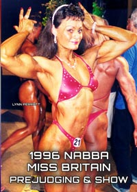 1996 NABBA Miss Britain: Prejudging and Show