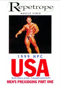 1999 NPC USA: Men's Prejudging 1