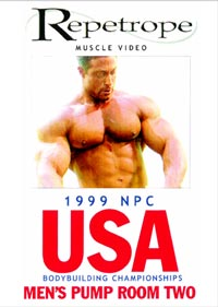 1999 NPC USA Bodybuilding Championships - Men's Pump Room #2