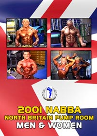 2001 NABBA North Britain Pump Room: Men and Women [PCB-1046DVD]