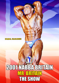 2001 NABBA Mr. Britain: Finals - Show