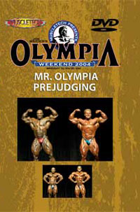 2004 Mr. Olympia - Prejudging