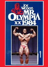 The Golden Age Of Muscle: 1984 Mr Olympia