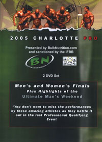 2005 Charlotte Pro - Men's & Women's Finals 2 Disc Set