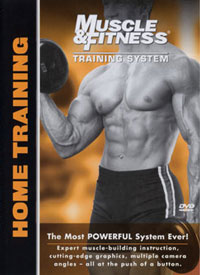 Muscle & Fitness Training System - Home Training [PCB-1219DVD]