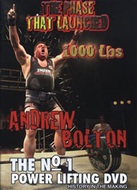 Andy Bolton - The Phase That Launched 1000 Lbs