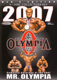 2007 Mr. Olympia Double DVD [PCB-1242DVD]