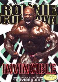 Ronnie Coleman - Invincible 2 Disc Set