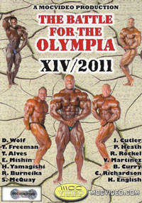 2011 Battle for the IFBB Olympia: 3 DVD Set