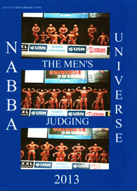 2013 NABBA Universe - Men's Judging