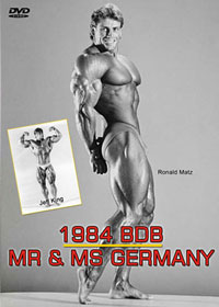 1984 BDB Mr & Ms Germany - The Show