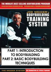 Joe Weider's Bodybuilding Training System Part 1 and 2