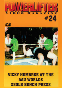 Powerlifter Video Magazine Issue # 24