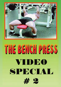 The Bench Press - Video Special #2 of 2