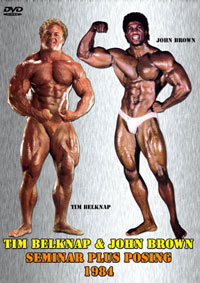 Tim Belknap and John Brown Seminar plus Posing - 1984