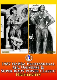 1987 NABBA Professional Mr Universe and Super Body Power Classic