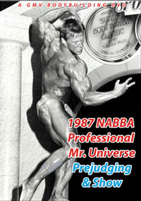 1987 NABBA Professional Mr. Universe: Prejudging and Show