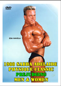 1988 SABBA Adelaide Physique Classic: Judging
