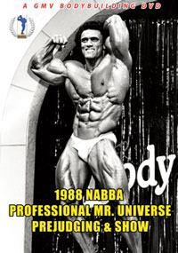 1988 NABBA Professional Mr. Universe: Prejudging & Show