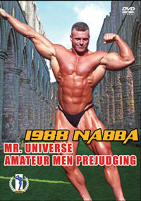 1988 NABBA Amateur Universe The Men Prejudging