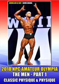 2018 NPC Amateur Olympia: The Men Part 1