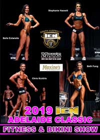 2019 ICN Adelaide Classic Fitness and Bikini Show