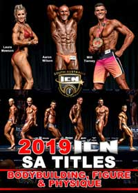 2019 ICN SA Titles: Bodybuilding, Figure and Physique [PCB-1035DVD]