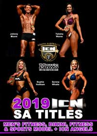 2019 ICN SA Titles - Men\'s Fitness, Bikini, Fitness & Sports Model Angels