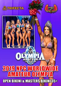 2019 NPC Worldwide Amateur Women's Olympia DVD #1