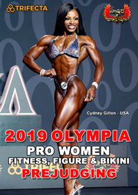 2019 Olympia - Pro Women: Fitness, Figure and Bikini Prejudging