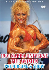 1991 NABBA Universe: The Women's Prejudging & Show