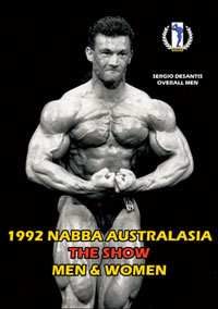 1992 NABBA Australasia Show Men & Women