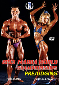 1993 NABBA World Championships The Prejudging