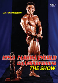 1993 NABBA World Championships The Show
