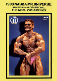 1993 NABBA Mr. Universe: Amateur & Professional: The Men - Prejudging