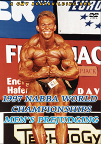 1997 NABBA World Championships: The Men's Prejudging