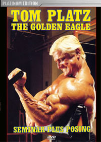 Tom Platz Seminar With Posing - The Golden Eagle [PCB-29/30DVD]