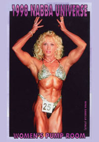 1998 NABBA Universe (50th Year) Women\'s Pump Room